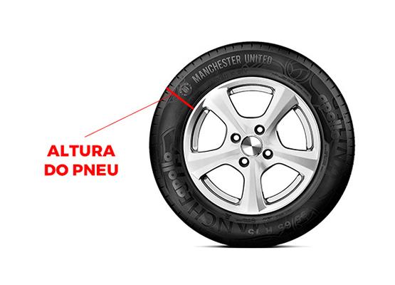 altura do pneu