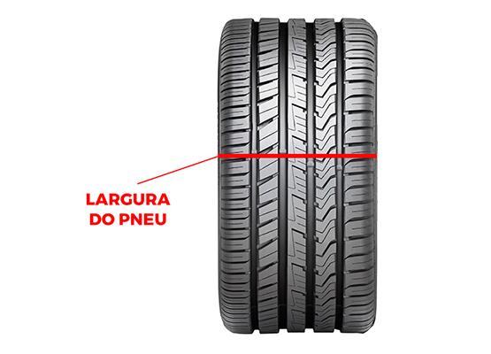 largura do pneu