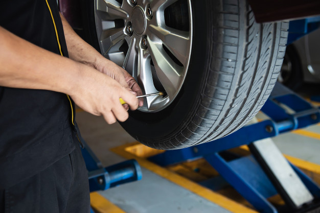 Momento de trocar os pneus