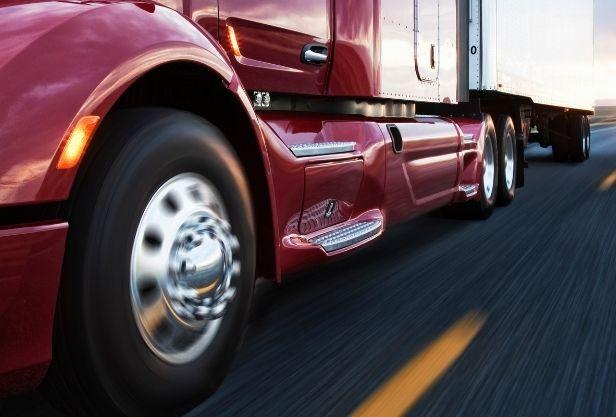 Calibragem dos pneus do caminhão